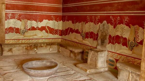 Knossos - inside